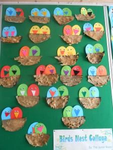 Birds Nest Collage