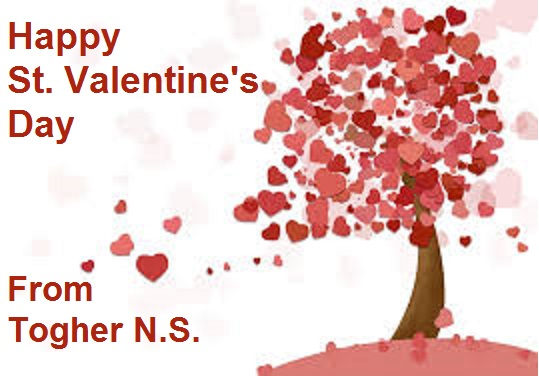 Happy St. Valentine\'s Day » TOGHER N.S.